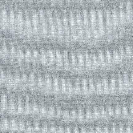 Essex Yarn-Dyed Linen in Fog Metallic