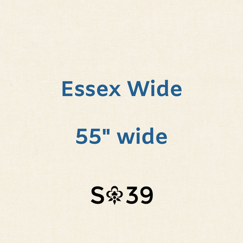 Essex Wide Yarn-Dyed Linen in Ivory