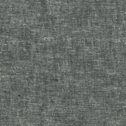 Essex Yarn-Dyed Linen in Black