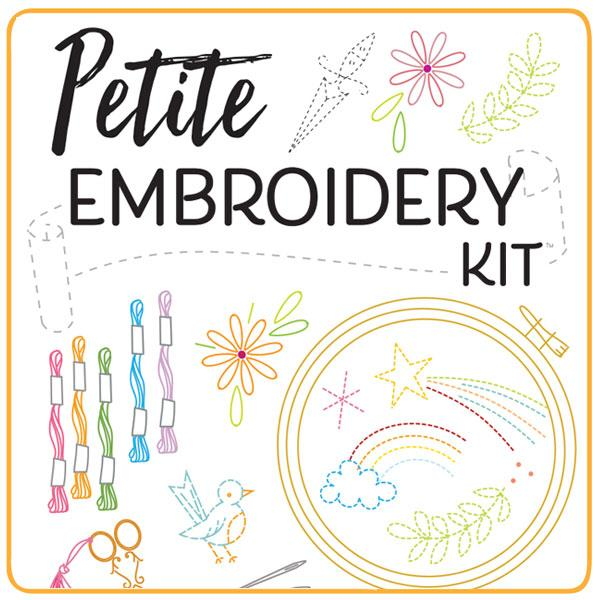 Petite Embroidery Starter Kit by Sublime Stitching