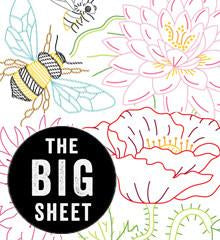 Big Blooms Embroidery Transfers by Sublime Stitching