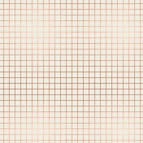 Grid in Copper Metallic
