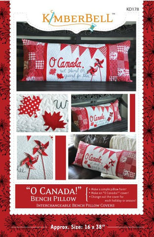 "Kimberbell ""O Canada"" Bench Pillow Pattern"