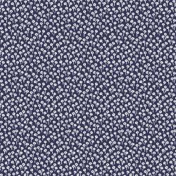 Navy Tapestry Dot