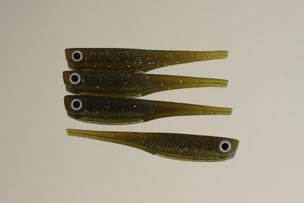 "Juicy - 5"" Flick Bait (UV) - 4pk"