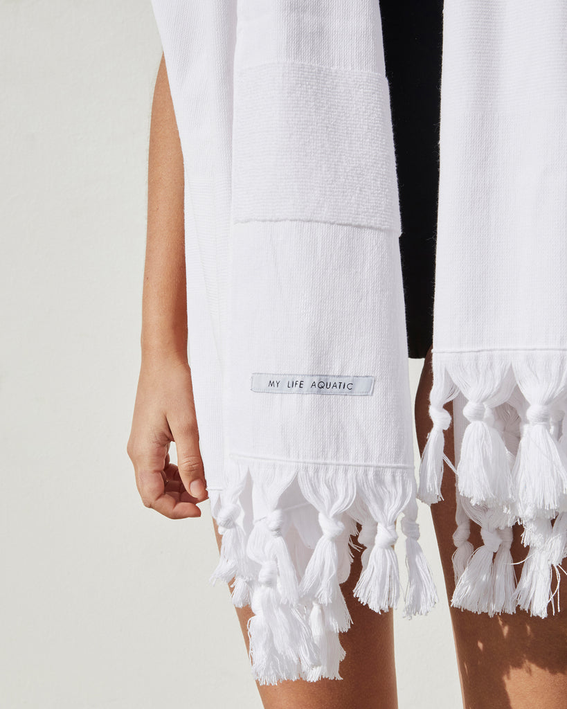 Beach Towel — White