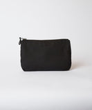 Canvas Beach Pouch — Black