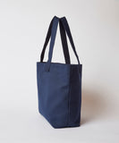 Canvas Beach Tote — Navy