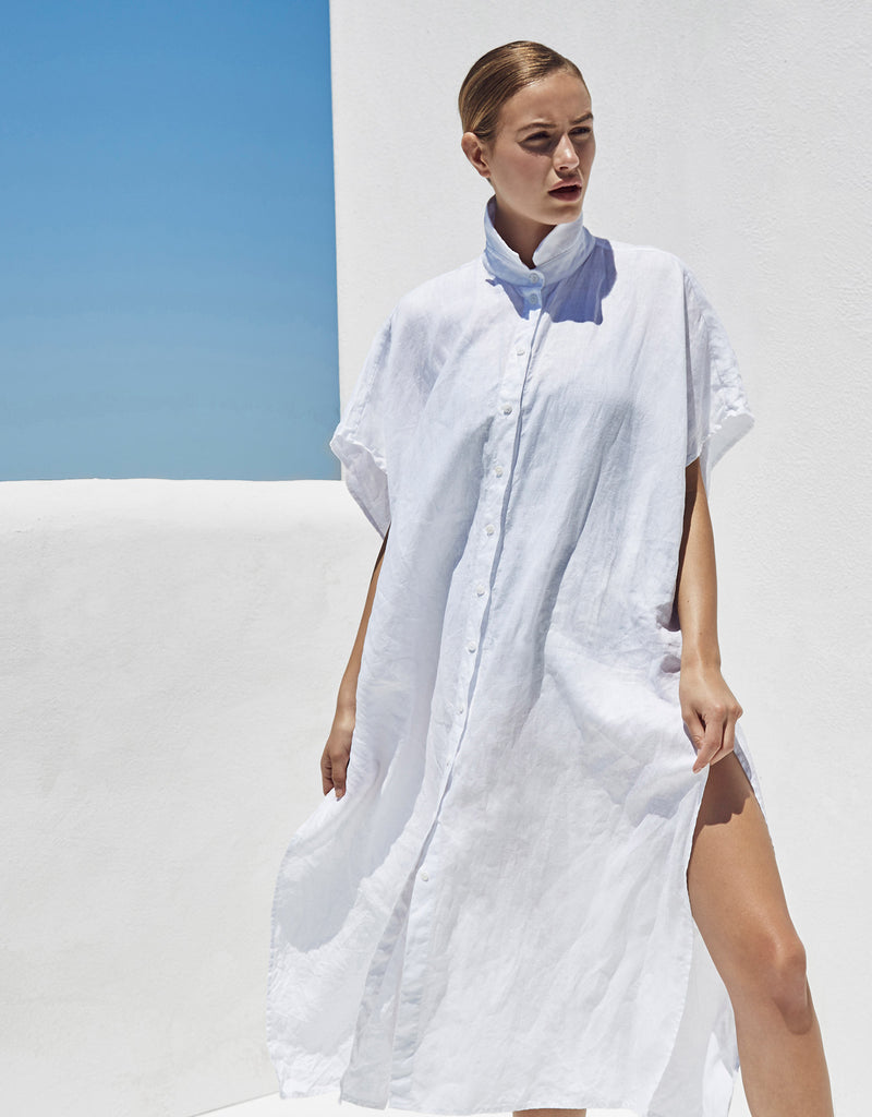 Beach Dress — White