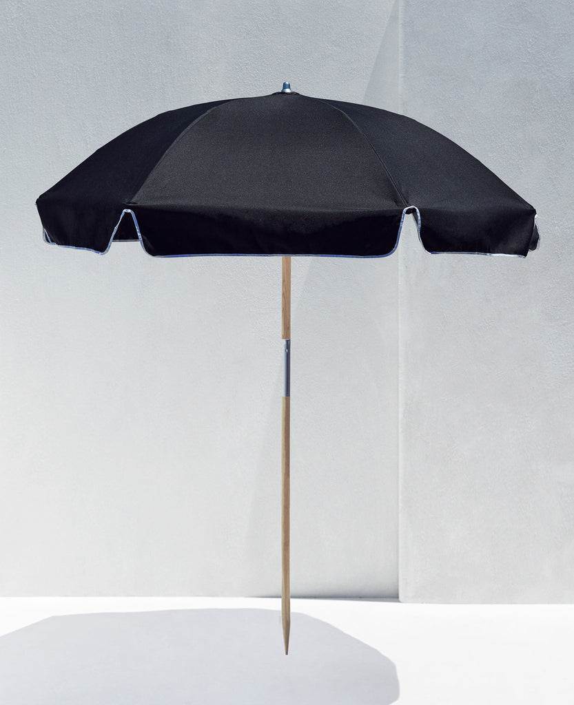 Beach Umbrella — Black