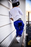 Royal Athletic Drop-Crotch Joggers