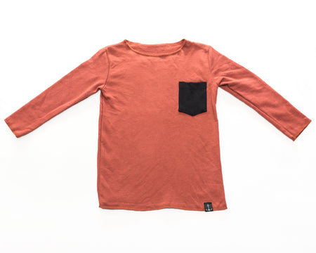 Blush Short Sleeve Crew Sweatshirt