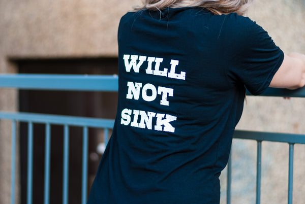 WILL NOT SINK Unisex Adult Tee
