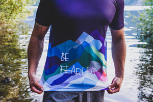 Be Fearless Wild Mountains Men's T-Shirt