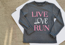 Load image into Gallery viewer, Live Love Run Warm Long Sleeve