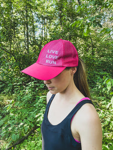 Live Love Run Go Hat