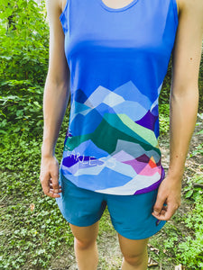 Be Fearless Wild Mountains Tank Top