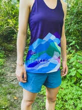 Load image into Gallery viewer, Be Fearless Wild Mountains Tank Top