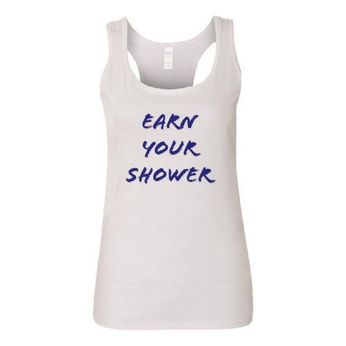 Earn Your Shower Tank