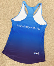 Load image into Gallery viewer, Running Gone MAD Race Tank (Women's)