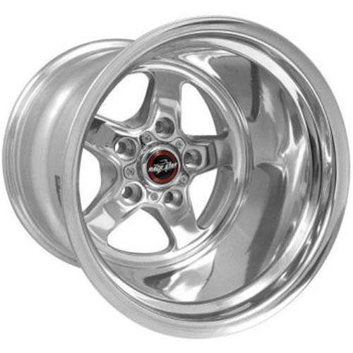 92 Drag Star Polished/Chrome - Race Star Wheels (5 Lug 5x4.5/5x114.3)