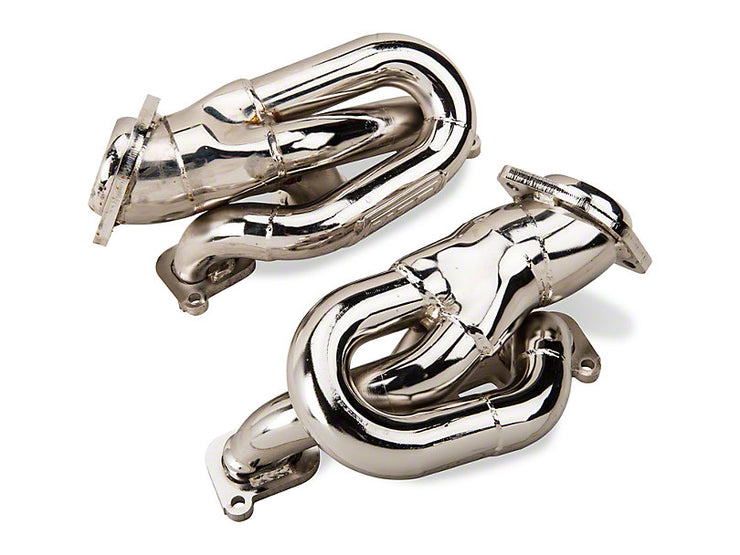 BBK 1-5/8 in. Chrome Tuned Length Shorty Headers (11-17 V6)