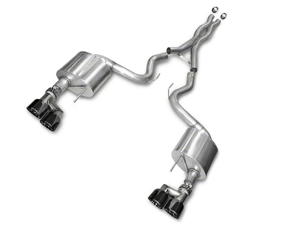 Corsa Xtreme 3 in. Cat-Back Exhaust - Black Quad Tips (15-18 GT Premium Fastback; 2018 GT Fastback w/o Active Exhaust)