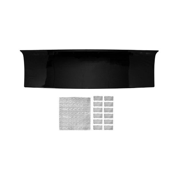 Decklid Panel Smooth Black 2010-2014