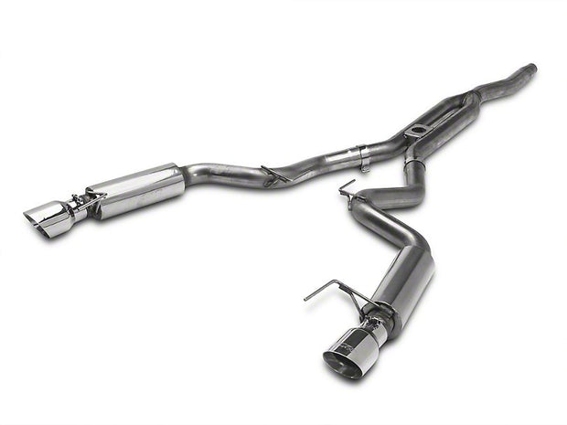 MBRP XP Series Cat-Back Exhaust w/ Y-Pipe - Race Version (15-17 EcoBoost Mustang)
