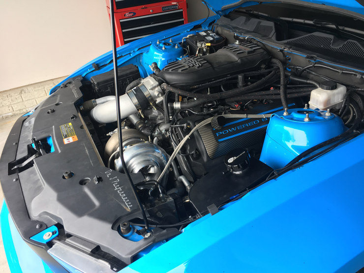 On 3 Performance 2011 – 2014 Mustang 5.0 Single Turbo System