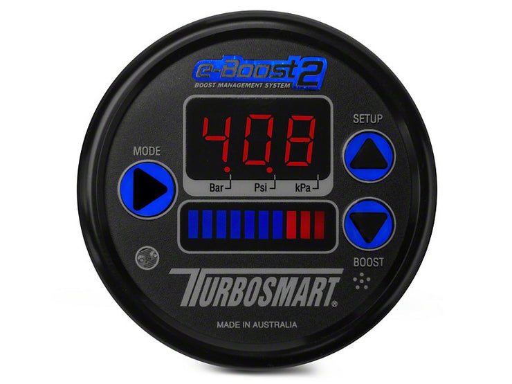 Turbosmart e-Boost2 Boost Controller - 60mm - Black (79-19 All)