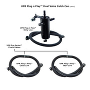 UPR 17-18 F150 ECOBOOST PLUG N PLAY DUAL VALVE CATCH CAN PRO-SERIES™ CHECK VALVES