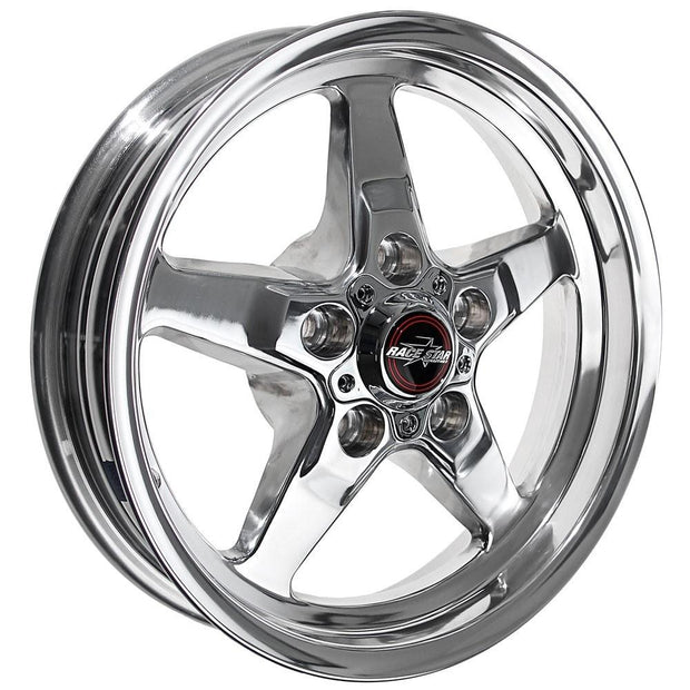 92 Drag Star Polished/Chrome - Race Star Wheels (5 Lug Corvette)