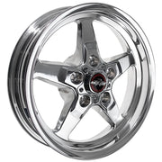 92 Drag Star Polished/Chrome - Race Star Wheels (5 Lug 5x135 Ford Lightning)