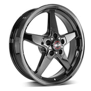 92 Drag Star Dark Star Polished Black - Race Star Wheels (5 Lug 5x4.5/5x114.3)