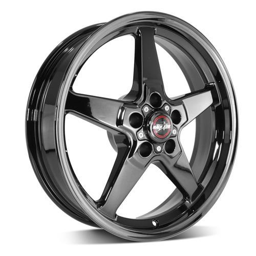 92 Drag Star Dark Star Polished Black - Race Star Wheels (5 Lug 5x115)