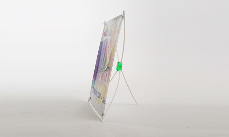 How To Setup A Table Top Budget Standee (X Banner Standee)