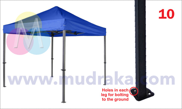 Portable Gazebo Demo Tents online with free shipping across India - mudraka.com