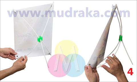 Setup the x banner stand buy online on mudraka
