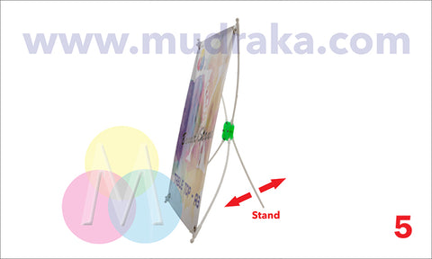buy budget x banner standee on mudraka