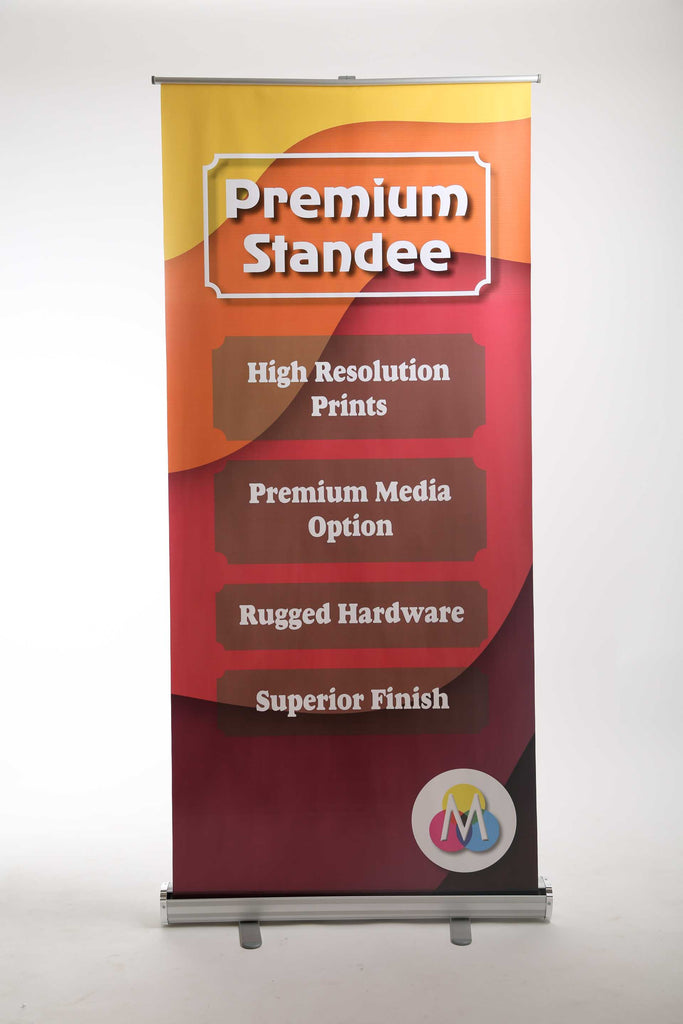 Premium Roll up standee with high resolution eco solvent print