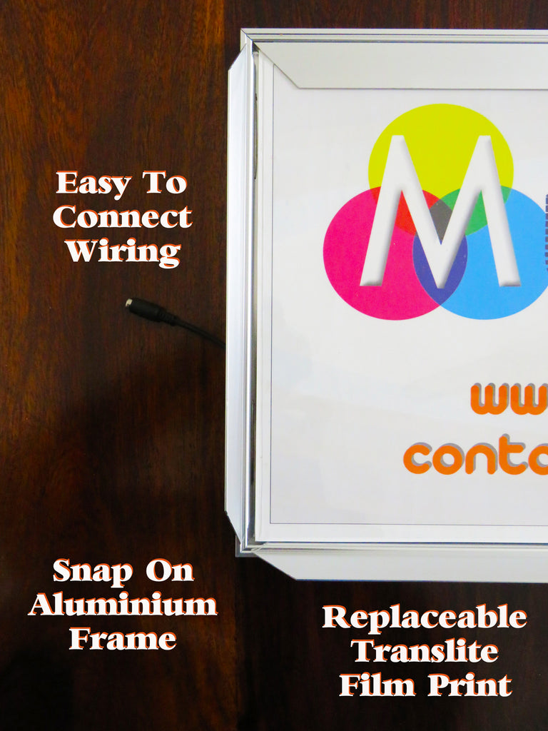 LED Backlit Board - With Replaceable Digital Printing Included – Mudraka