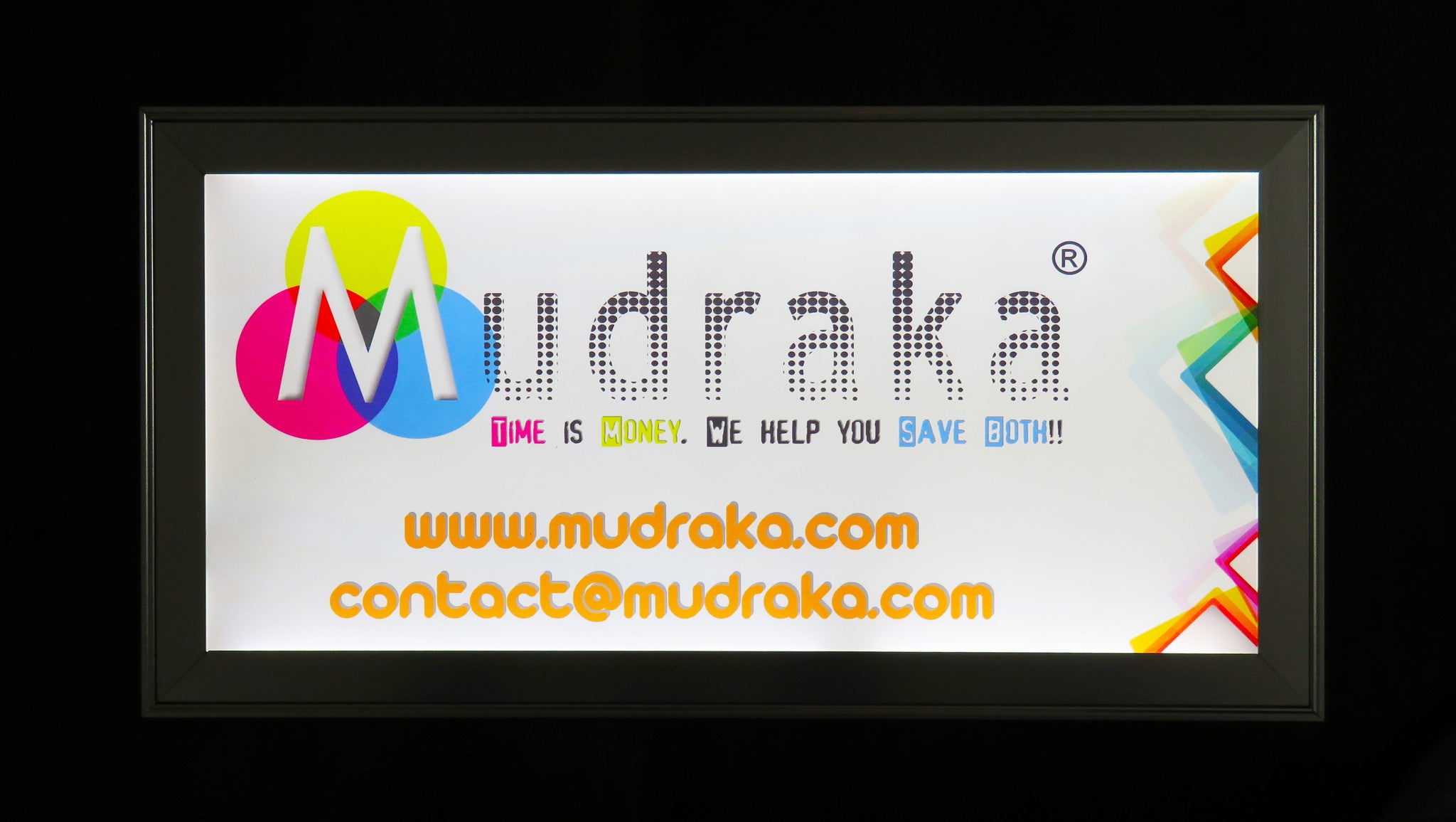 LED Backlit Board - With Replaceable Digital Printing - 10