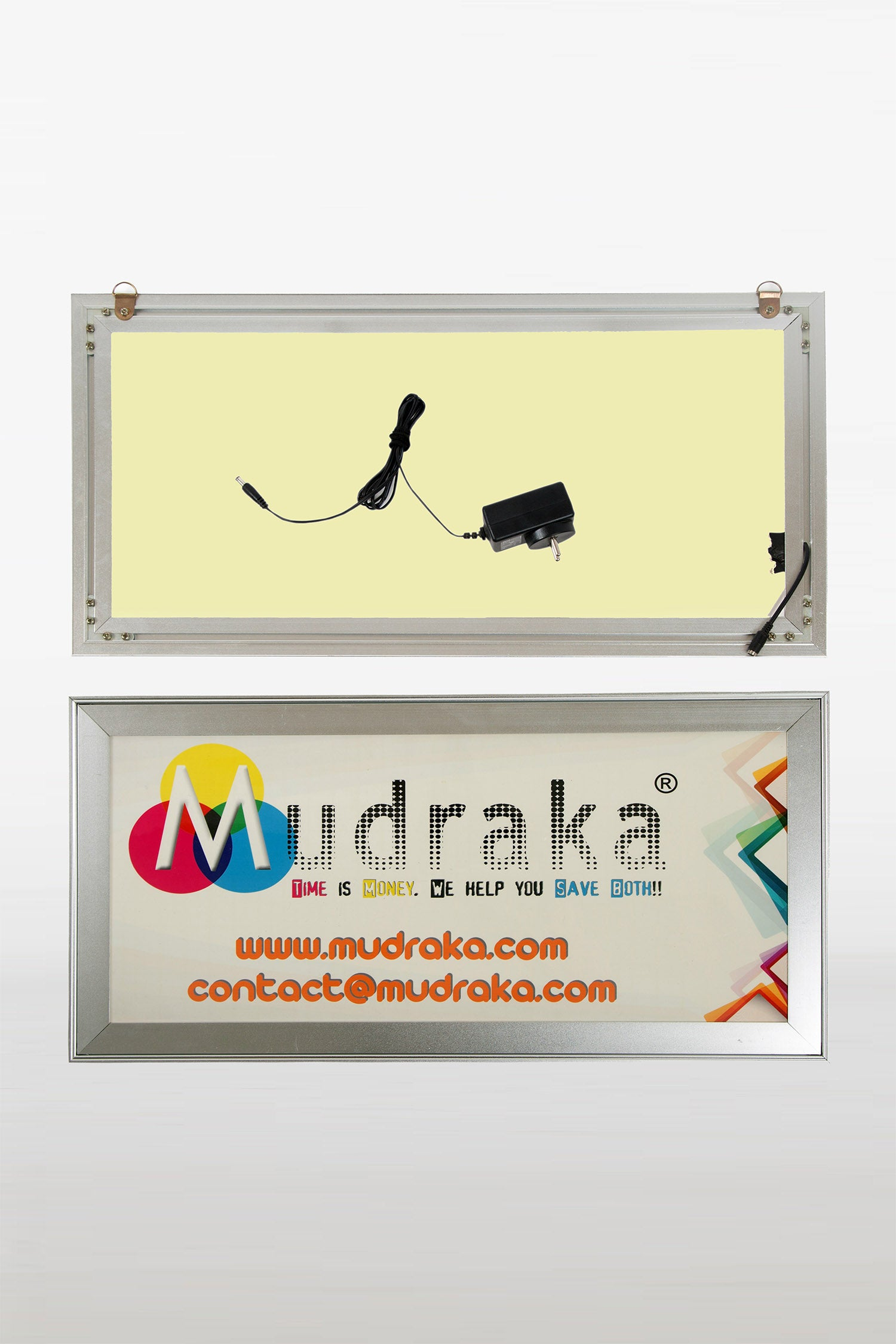 LED Backlit Board - With Replaceable Digital Printing - 10 mm Thick