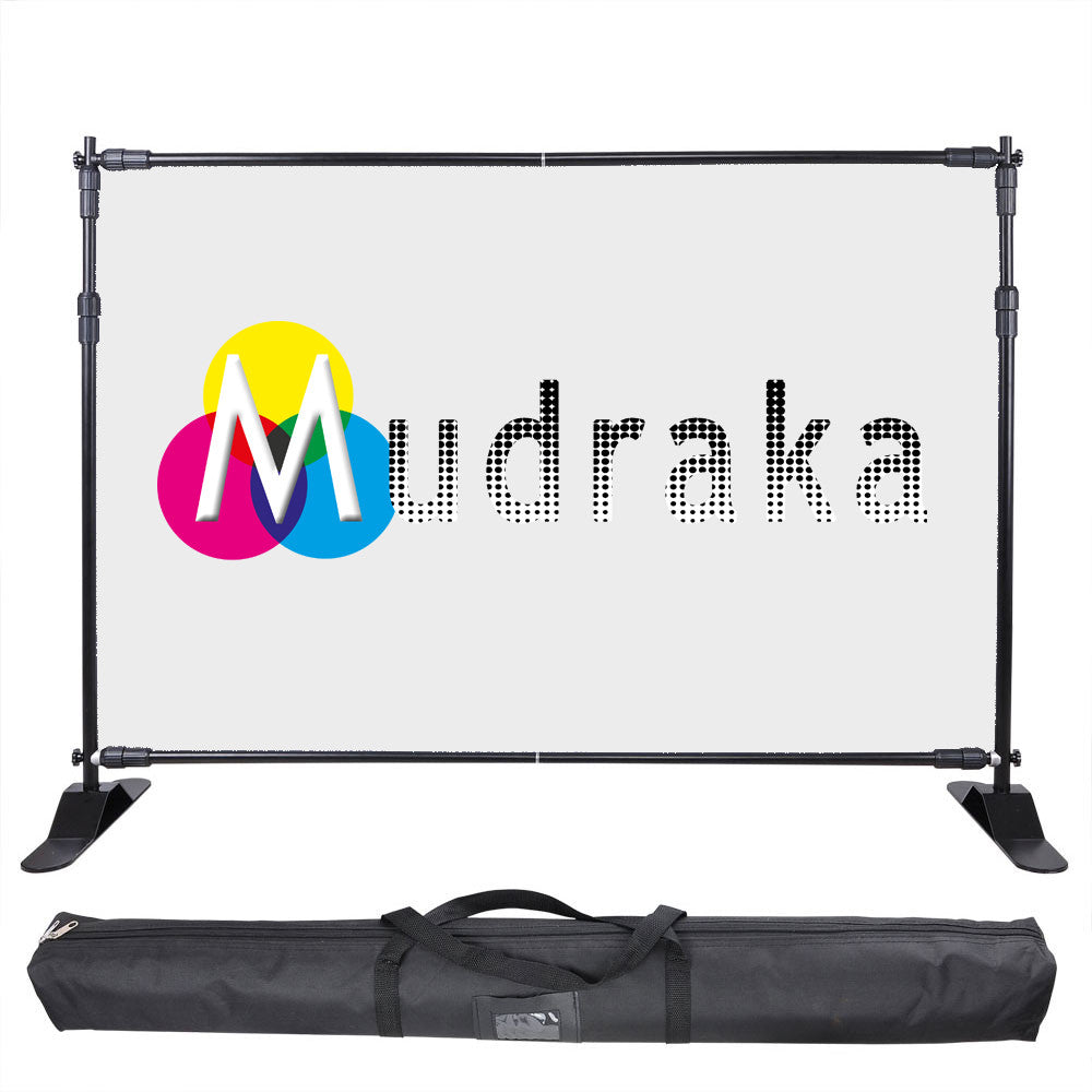 Collapsible Backdrop stand on Mudraka.com with carry bag