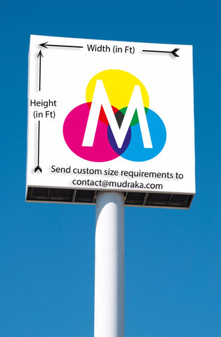 Premium Flex Banners With Odorless Eco Solvent Inks