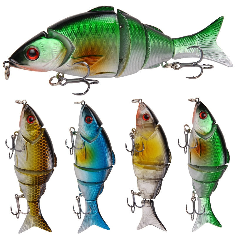 GRAB YOURS NOW!! FREE+S&H.... NEW 12.5CM 21G MULTI SINKING JOINTED CRANKBAITS PIKE