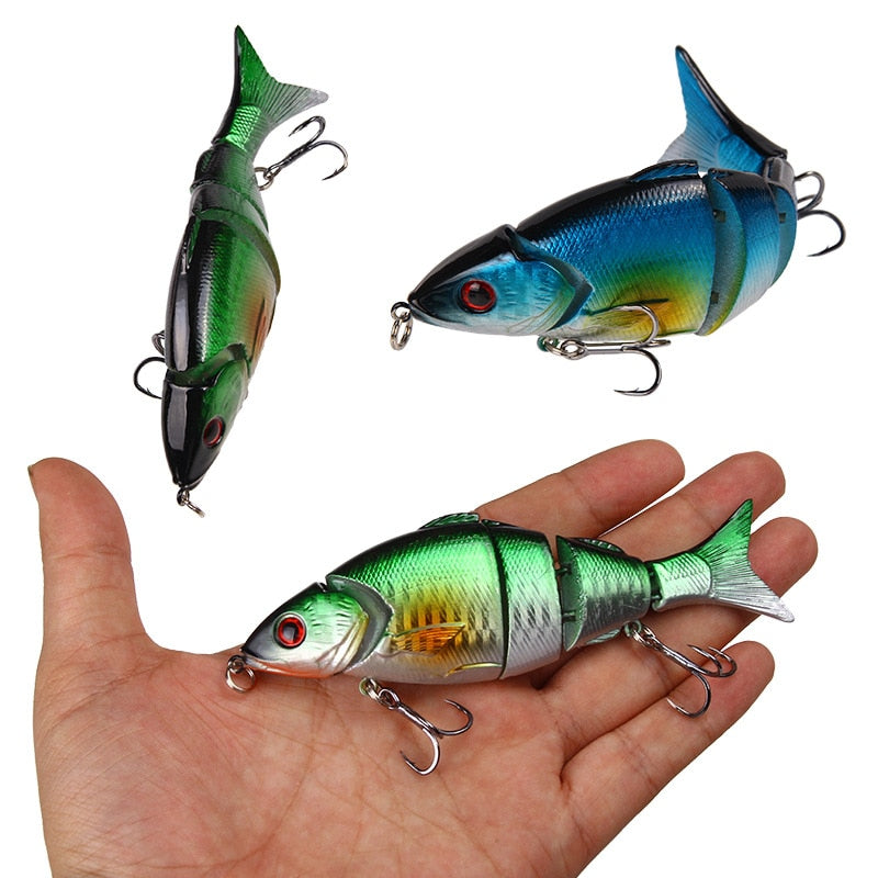 GRAB YOURS NOW!! FREE+S&H....2020 NEW 12.5CM 21G MULTI SINKING JOINTED CRANKBAITS PIKE