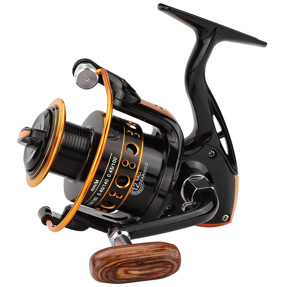 🐬 JUST ARRIVED!!🐬  Jackfish 12BB Spinning Fishing Reel for Saltwater Metal Spool