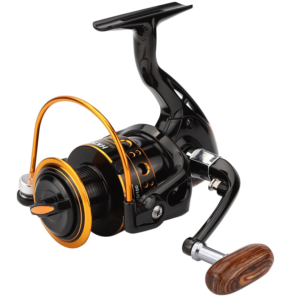 🐬 JUST ARRIVED!!🐬  2020 Jackfish 12BB Spinning Fishing Reel for Saltwater Metal Spool